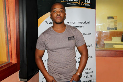 INNOVATIONS: Silulami 'Slujah' Bunu Mdantsane FM breakfast show radio host, hip-hop artist and music producer introduces the first 'Music and Comedy Nights – The Vibe' show to Mdantsane Picture: SUPPLIED