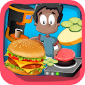 Maker burger shop chef  games icon