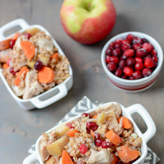Slow Cooker Apple Cranberry Chicken