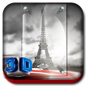 3D Paris Photo Frames