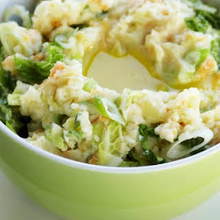 Cabbage with Mashed Potato.