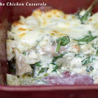 Spinach & Artichoke Chicken Casserole.