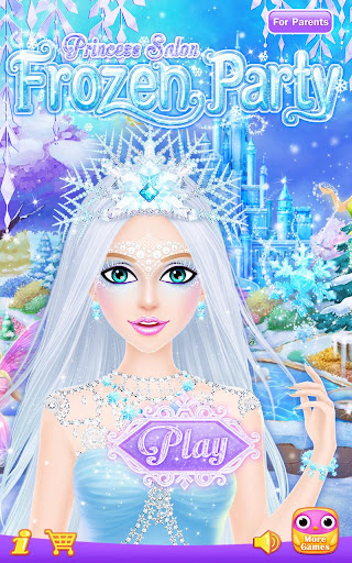 Princess Salon: Frozen Party captures d'u00e9cran 1