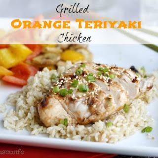 Grilled Orange Teriyaki Chicken