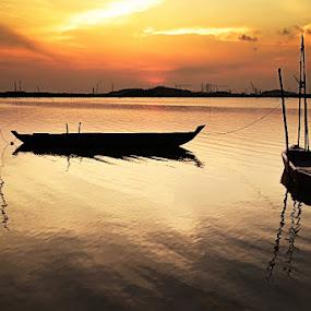 Both of Boats by Rizki Mayendra - Transportation Boats