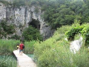 Photo: pohled na jeskyni Šupljaru
