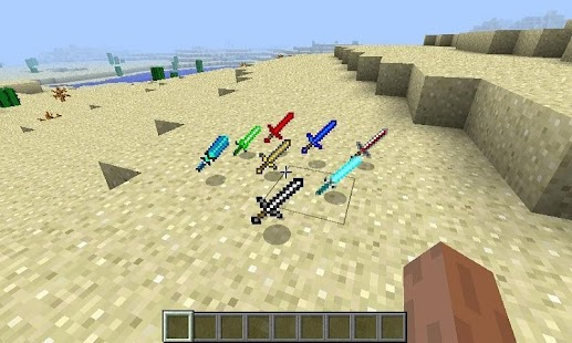 Mod Swords for MCPE - náhled