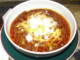 My Texas Chili Recipe