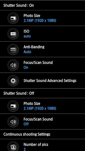 HD Camera - silent shutter screenshot 3