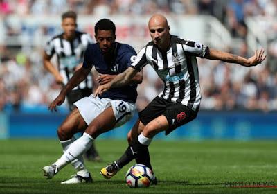 Tottenham-Belgen halen het tegen tienkoppig Newcastle