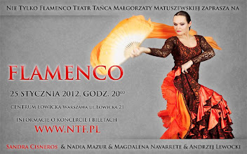 Photo: Koncert Flamenco 25.01.2012 ; na zdjęciu Nadia Mazur