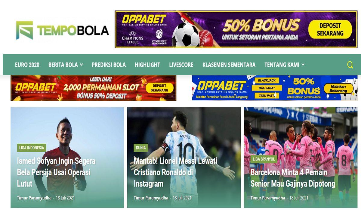 Top 10 trang thể thao Indonesia được NHM quan tâm nhất hiện nay