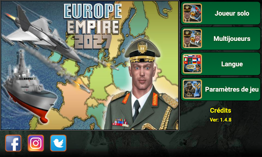 Europe Empire 2027  captures d'u00e9cran 1
