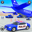 Crazy Police Vehicles Transport Truck icon