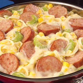 Smoked Sausage Egg Noodles Recipes.