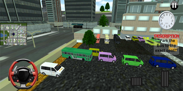 City Luxury Bus Parking Simulator 3D - náhled