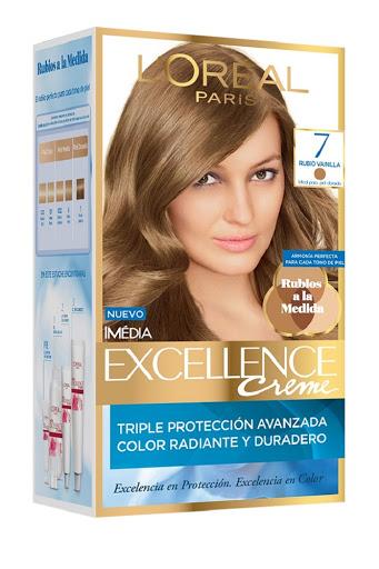tinte excellence crema kit rubio 7