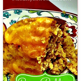 EASY Cornbread Pudding Recipe in the Slow Cooker.