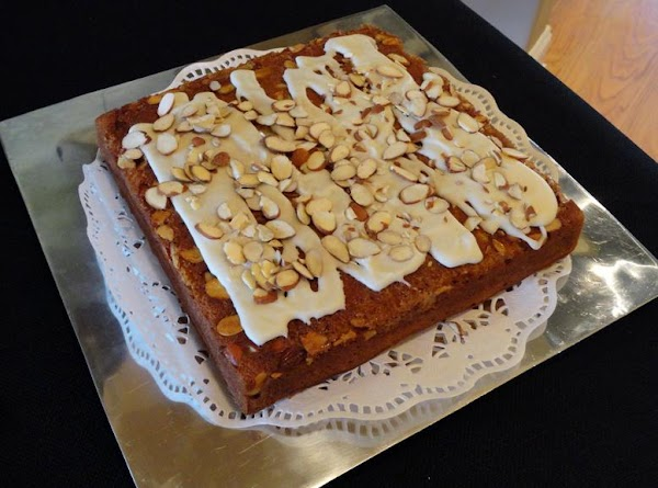 Sprinkle with remaining 1/4 cup of almonds. Garnish as desired. Serve warm or at...