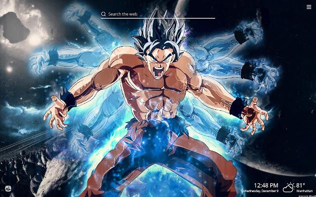 Goku Ultra Instinct HD Wallpapers New Tab