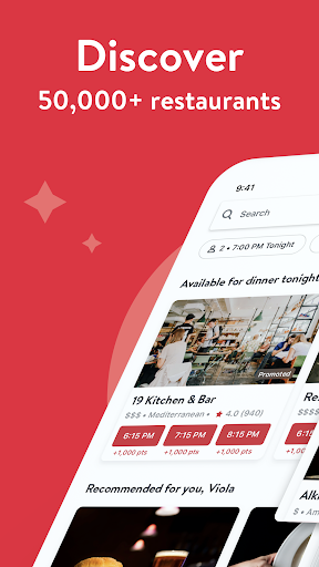 OpenTable: Restaurants Near Me 13.19.1.3396 screenshots 1