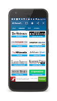 screenshot of All Newspapers
