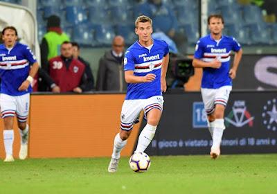 La Sampdoria fixe le prix de son Diable Rouge