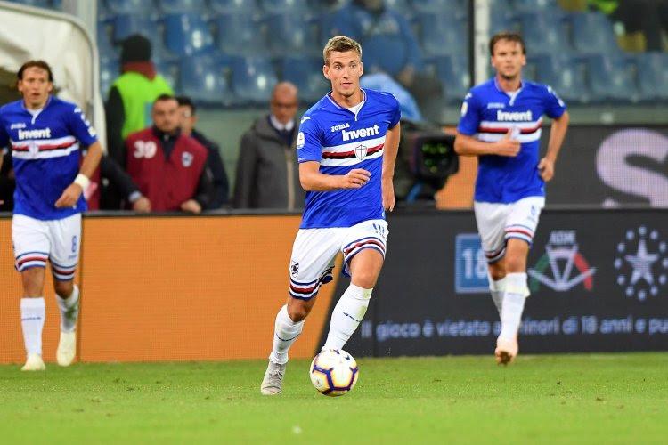 Série A: Dennis Praet et la Sampdoria s'imposent