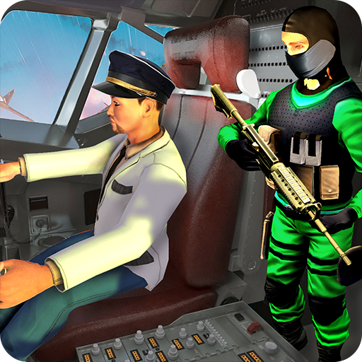 US Airplane Hijack : Ultimate Rescue Mission Android APK Download Free By Papas Gaming Crush Inc