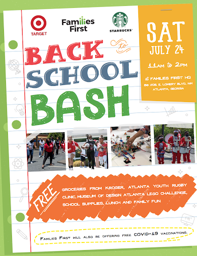 Families First Brings Community Together for Back-to-School Bash Promoting the Power of Resilience and Education to Get Families Ready for Back to School
