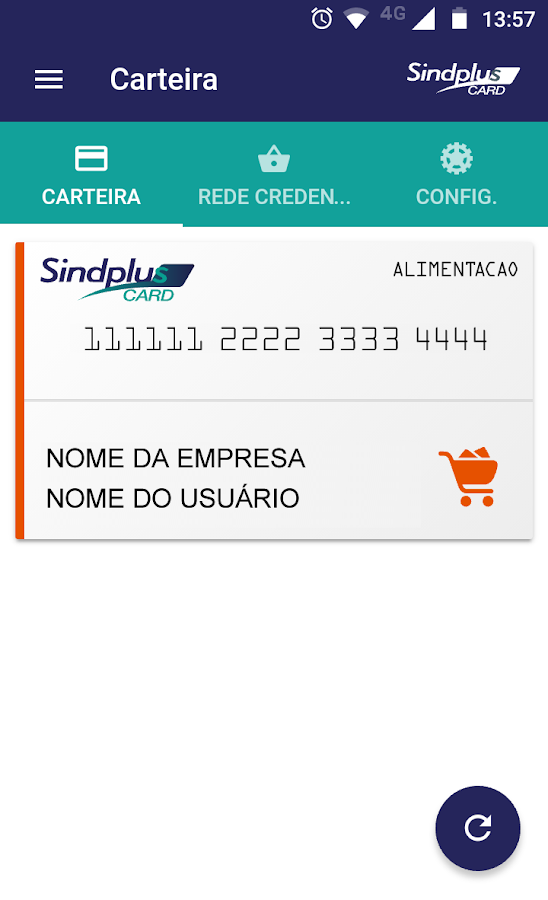 SindPlus Card- screenshot