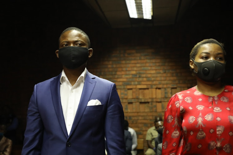 Shepherd Bushiri and his wife Mary, along with co-accused Willah Mudolo, his wife Zethu and Landiwe Ntlokwana, face charges of fraud, theft and money laundering. File photo.