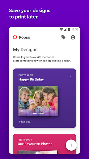 Popsa - Photobooks in 5 minutes - screenshot