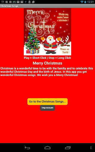 Christmas Songs Adfree