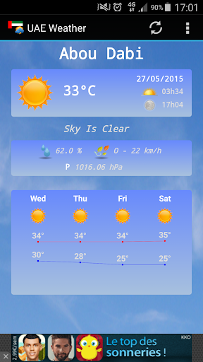 United Arab Emirates Weather