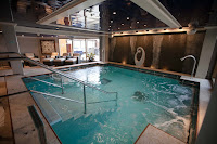 A spa seen during a ship inspection