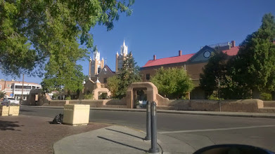 Photo: August 11-Old Town Albuquerque.  Nothing was open yet, but I did gas up, hit the post office, and find breakfast.