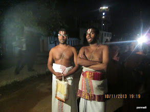 Photo: vEdha pArAyaNam in evening puRappAdu