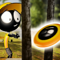Stickman Disc Golf Battle icon