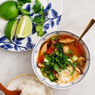 Red Curry Lemongrass Soup.