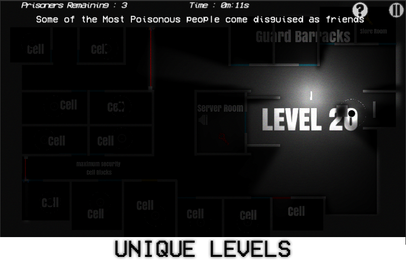33 - 2D Stealth Puzzle Game- screenshot