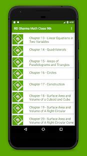 Rd Sharma Class 9 Maths Solutions - náhled