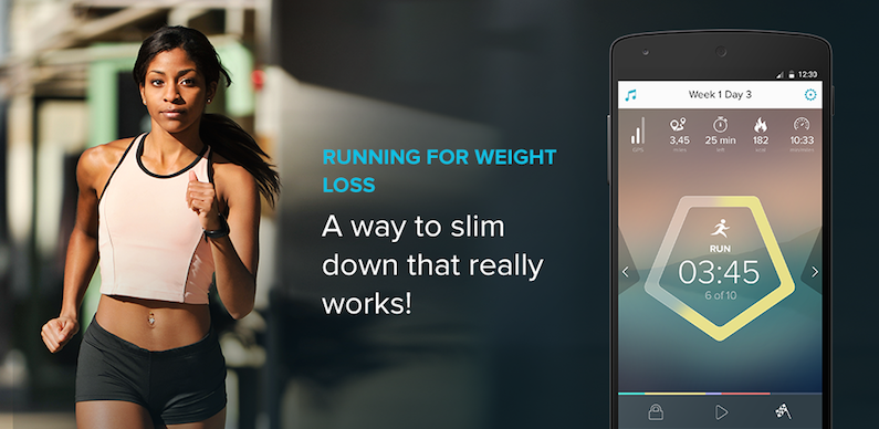 Monetize free mobile apps through subscriptions and ads like Running for Weight Loss.