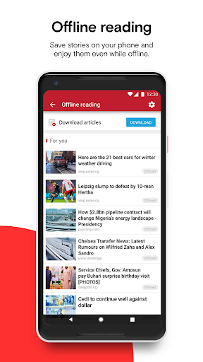 Opera News - Trending news and videos 5.3.2254.134679 screenshots 7