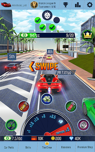 Télécharger Idle Racing GO: Clicker Tycoon & Tap Race Manager apk mod screenshots 1