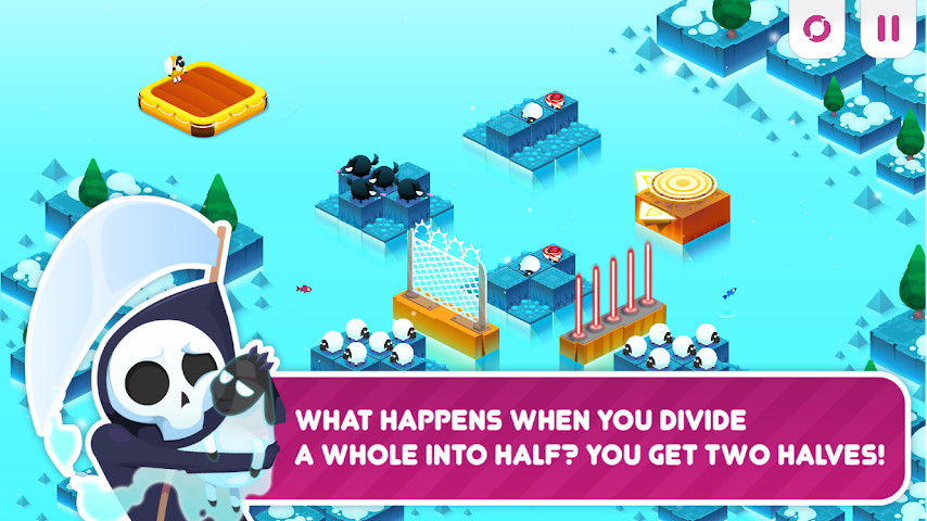 android Divide By Sheep - Mathespiel Screenshot 5