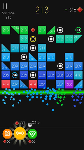 Balls Bricks Breaker 2 - Puzzle Challenge apkdebit screenshots 2