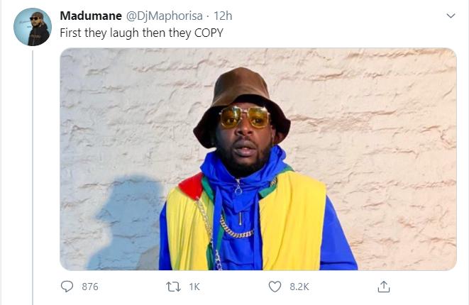 DJ Maphorisa's response.