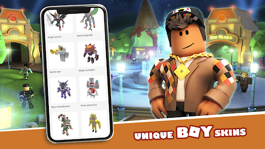 Master skins for Roblox 2