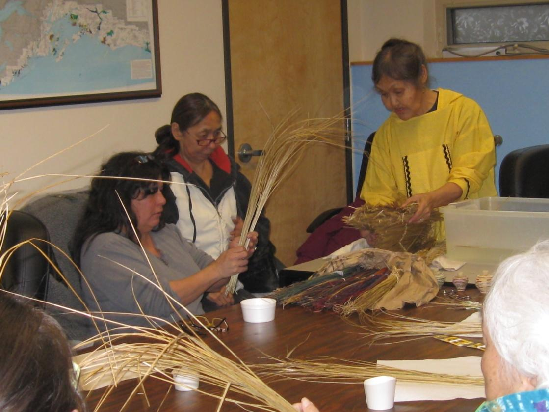 Alaska Native Art classes at Qutekcak